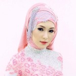 How to wear bridal hijab