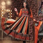 Latest collection of Indian anarkali frocks – Indian dresses 2013