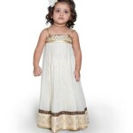 Maxi style kids party dresses