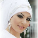 Muslim bridal in hijab