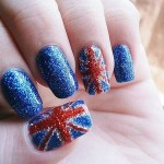 Glitter Nail Art Designs for girls