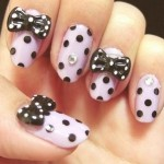 black white nail art ideas