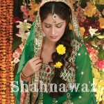green mehndi dresses