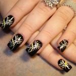 nail art design ideas blacky