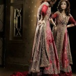 Pakistani bridal dresses in tail style