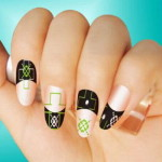 square nail polish art