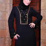 Abaya designs with stone work