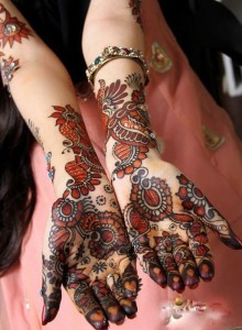Arabic bridal mehndi designs 2013