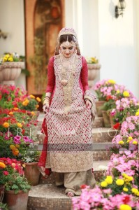 Pakistani Bridal sharara designs