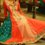 Embroidered frock designs