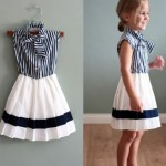 Frocks designs for kids 2013
