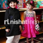 Kids Wear Spring-Summer Collection By Nishat Linen
