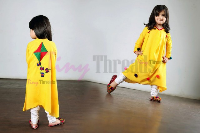 Kids kurta designs by tiny threads