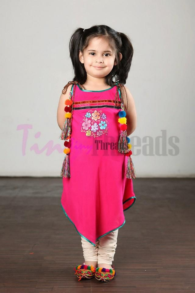 Kids summer cloths 2013 in Pakistan - Kids summer dresses