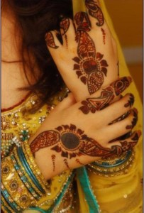 Mehndi designs for brides