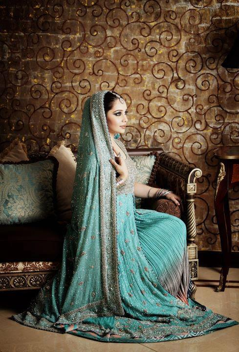 Pakistani bridal engagement dresses