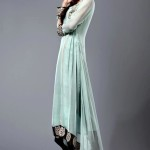 Pakistani formal dresses in tail style