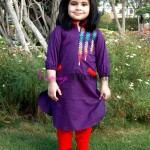 Pakistani kids kurta designs