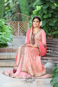 Pink pakistani bridal dresses