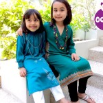 Summer dresses for kids in kurta styles