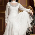 Frock designs in white color