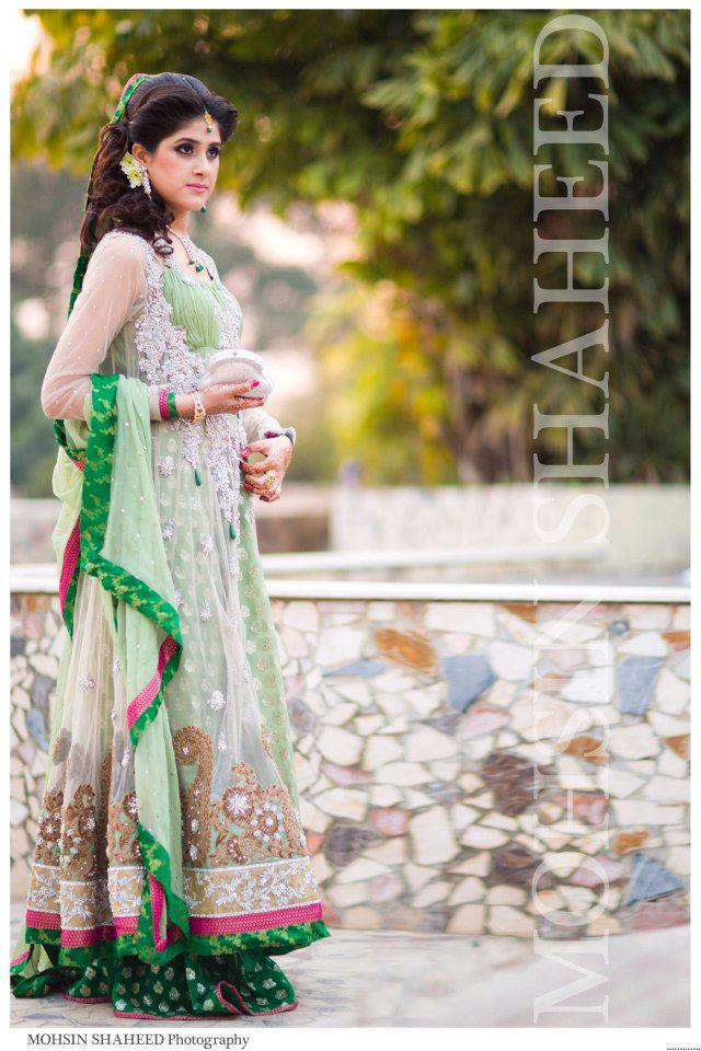 Bridal Wedding Gown Designs In Pakistan Maxi Style Gowns