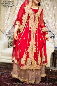 2013 bridal collection in red color