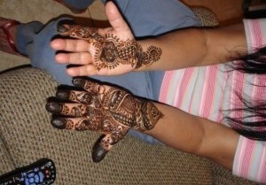 Arabic kids mehndi designs