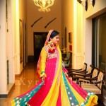 Bridal mehndi dresses trends 2013