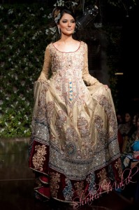 Designers bridal dresses by saadia Mirza