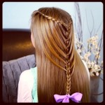 Easy and quick long hairstyles