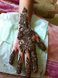 Eid mehndi design patterns