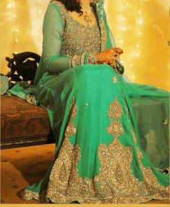 Green dresses 2013 bridal collection