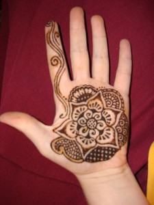 Hand mehndi designs for kids