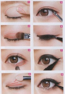 How to do eye makeup Asian