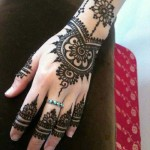 Eid mehndi design patterns – Hand mehndi designs 2013