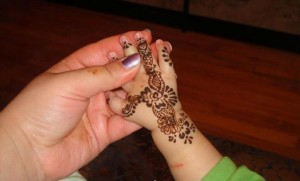 Kids mehndi designs 2013