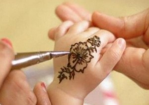 Kids mehndi designs pictures