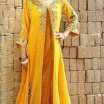 Latest bridal mehndi dresses 2013