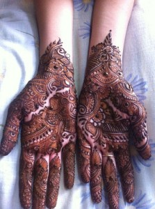 Mehndi design patterns