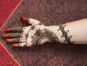 Mehndi design patterns for eid