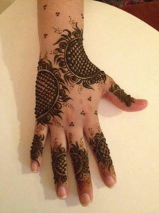 Mehndi design patterns for girls