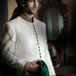 Mehndi sherwani for groom