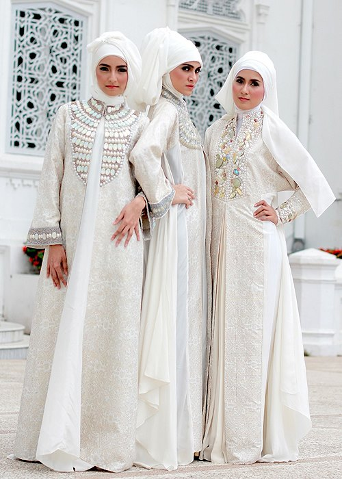 Muslim bridal dresses 2013 - Modest Muslim wedding dresses