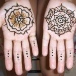 Pakistani kids mehndi designs