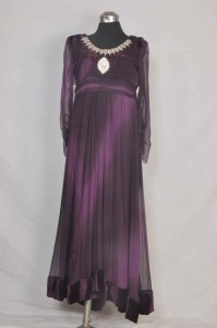 Purple chiffon dresses 2013