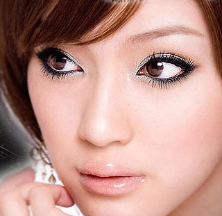 How to do eye makeup on different eye shapes for Japanese tattoo eyeliner