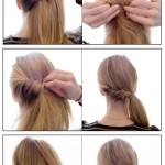 Side pony longhairstyles