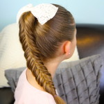 Stylish long hairstyles braided