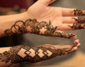 Stylish mehndi design patterns